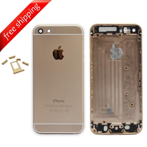 Back Housing Replacement Battery Case Cover Rear Frame For iPhone 6 - Gold
