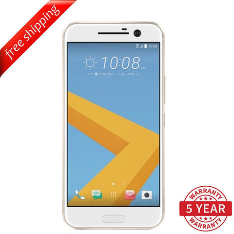 Original HTC 10 4G LTE Factory UNLOCKED Topaz Gold (32GB) - Refurbished
