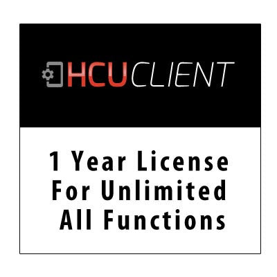1 Year license for unlimited all functions