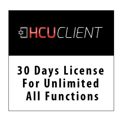 30 Days license for unlimited all functions