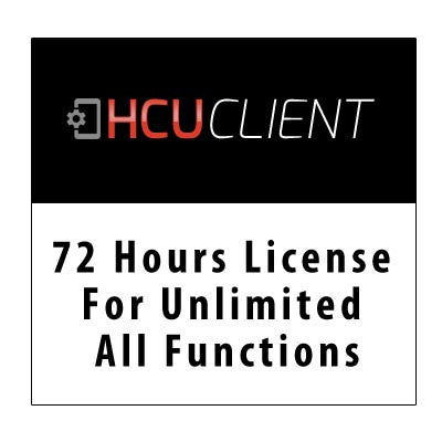 72 Hours license for unlimited all functions