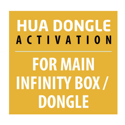 Hua Dongle Activation For Infinity Box / Dongle