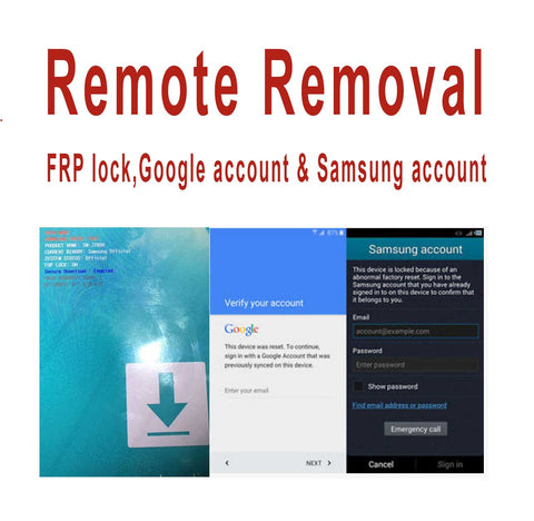Remote Removal FRP Lock,Google Account & Samsung Account - Support All Samsung Model