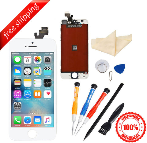 Original LCD For iPhone 5 Replacement Screen Touch Digitizer - White