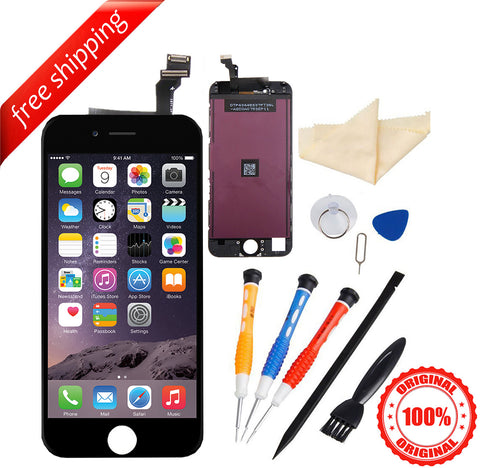 Original LCD For iPhone 6 Replacement Screen Touch Digitizer - Black