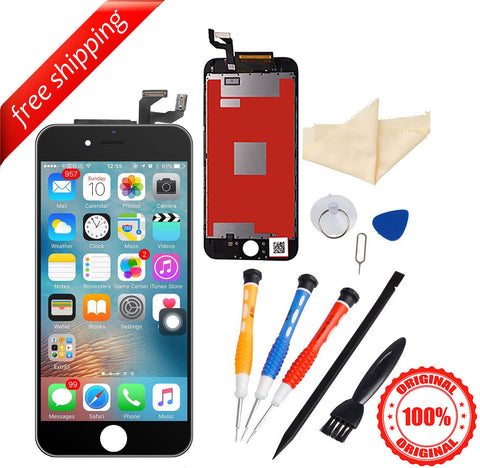 Original LCD For iPhone 6s Replacement Screen Touch Digitizer - Black