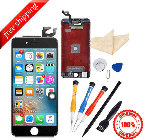 Original LCD For iPhone 6s Plus Replacement Screen Touch Digitizer - Black
