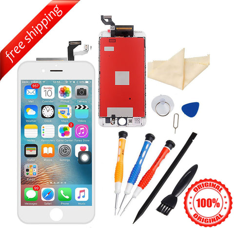 Original LCD For iPhone 6s Plus Replacement Screen Touch Digitizer - White