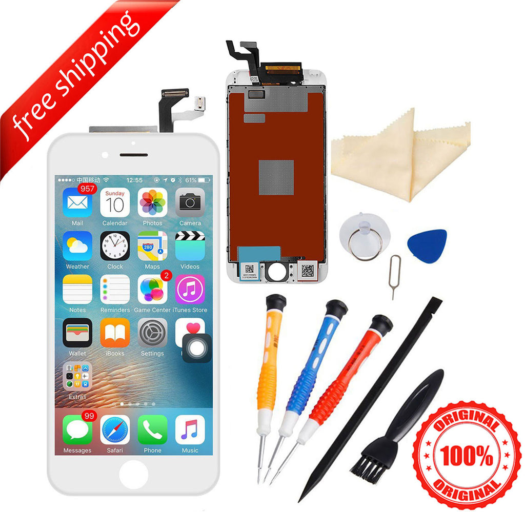 Original LCD For iPhone 6s Replacement Screen Touch Digitizer - White