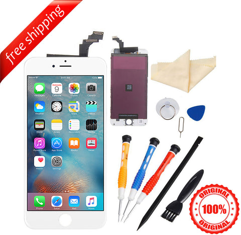 Original LCD For iPhone 6 Plus Replacement Screen Touch Digitizer - White