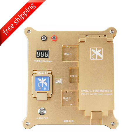 Mijing iPad 2 3 4 icloud unlock tool 32bit iphone 4S 5 5S 5C NAND Test fixture - ( English & Chinese Software ) - No Stock Now, Delivery date on 15th June