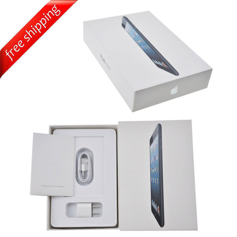 Packaging Box + Full Accessories + Label Sticker For iPad mini