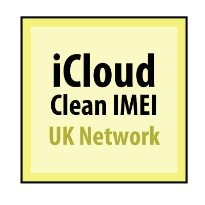 iCloud Clean IMEI UK Network Only (99% Success)