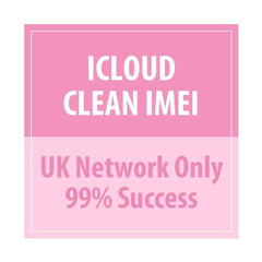iCloud Clean IMEI UK Network Only 99% Success - Delivery Time : 15 days