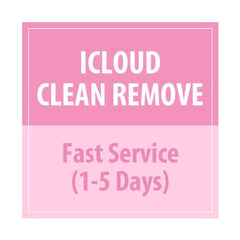 iCloud Clean Remove fast Service 1-5days (All country and Sold by Apple Only) - Delivery Time : 5 days