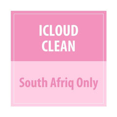 iCloud Clean (SOUTH AFRIQ ONLY) - Delivery Time : 15 days
