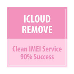 iCloud Remove Clean IMEI Service 90 % Success - Delivery Time : 21 days