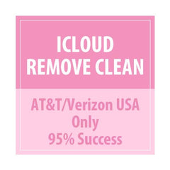 iCloud Remove Clean AT&T/Verizon USA Only 95% Success - Delivery Time : 12 days