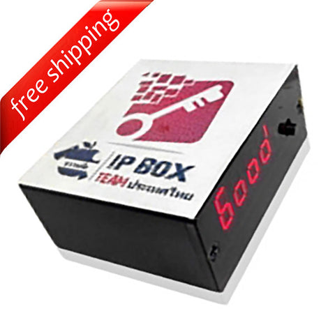 IP-Box with Charging Cables and iOS8 Adapter - iPhone Password Unlock Tool