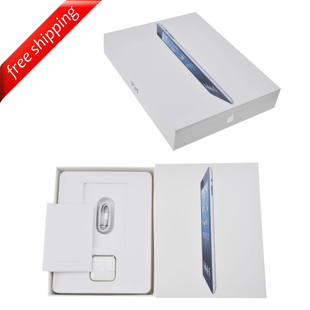 Packaging Box + Full Accessories + Label Sticker For iPad 2