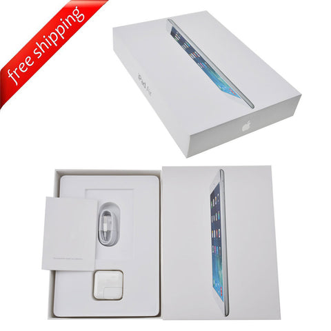 Packaging Box + Full Accessories + Label Sticker For iPad Air
