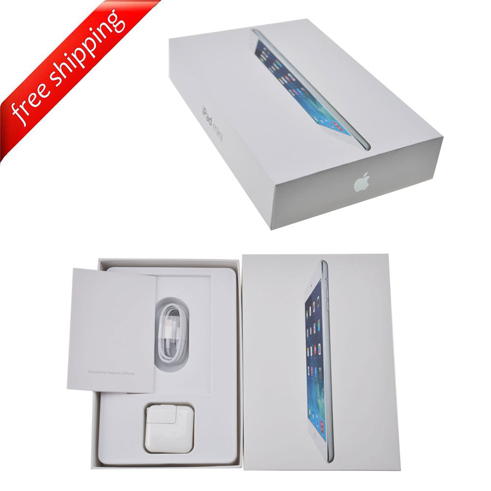 Packaging Box + Full Accessories + Label Sticker For iPad mini 2