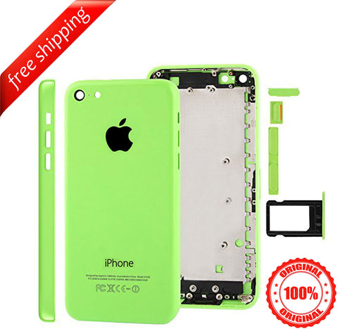 Original Back Housing Replacement Battery Case Cover Rear Frame For iPhone 5c  - Green
