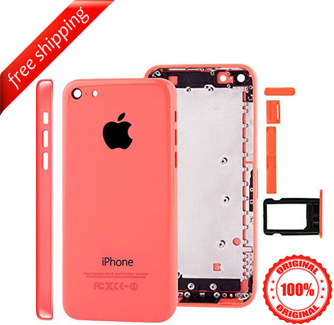 Original Back Housing Replacement Battery Case Cover Rear Frame For iPhone 5c  - Pink