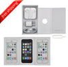 Original Retail Packaging Box + Full Accessories + Label Sticker  For iPhone 5S