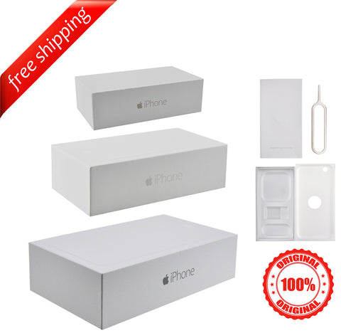 Original Retail Packaging Box + Label Sticker For iPhone 6