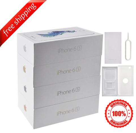 Original Retail Packaging Box + Label Sticker  For iPhone 6s