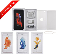 Original Retail Packaging Box + Full Accessories + Label Sticker For iPhone 6s Plus