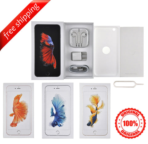 Original Packaging Box + Original Full Accessories + Label Sticker iPhone 6s Plus