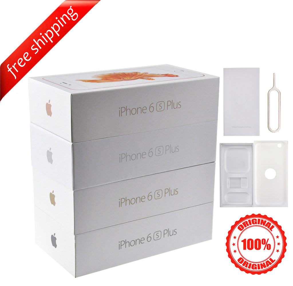Original Retail Packaging Box + Label Sticker For iPhone 6s Plus