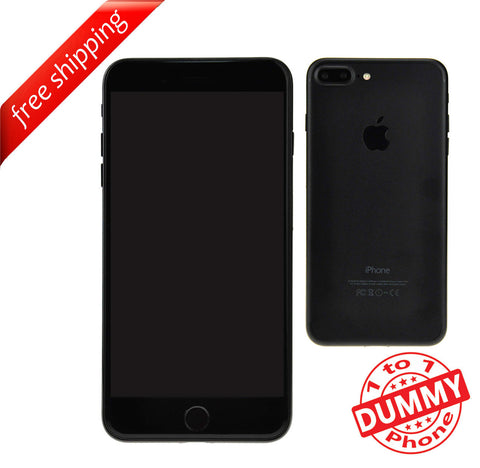 1:1 Non Working Dummy Shop Display Toy Model Mobile Phone For iPhone 7 Plus - Black