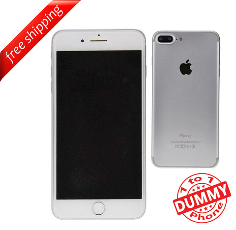 1:1 Non Working Dummy Shop Display Toy Model Mobile Phone For iPhone 7 Plus - Silver