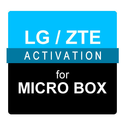 LG / ZTE Activation for Micro Box