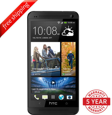 Original HTC ONE M7 4G LTE Factory Unlocked Black ( 32GB ) - Refurbished