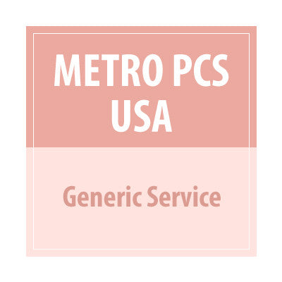 Metro PCS USA Generic Service - Delivery Time : 72 Hours