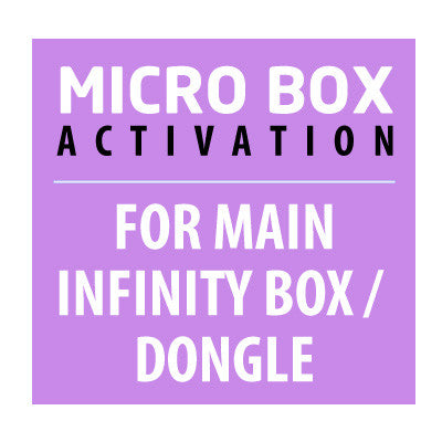 Micro Box Activation For Main Infinity Box / Dongle