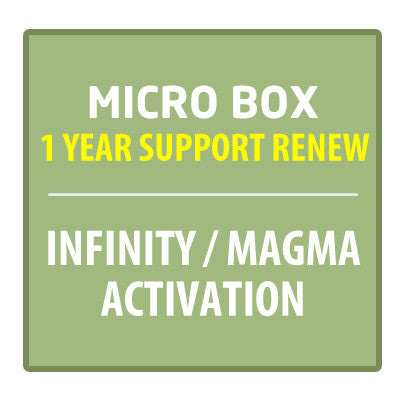 Micro-Box 1 Year Support Renew (Infinity / Magma Activation)