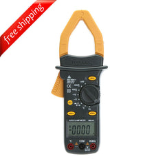 HYELEC MS2101 Auto Range Digital AC/DC Current Voltage Clamp Meter with Temperature Test
