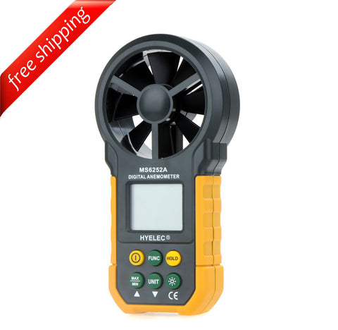 HYELEC MS6252A Multifunction Digital Anemometer/Air Volume