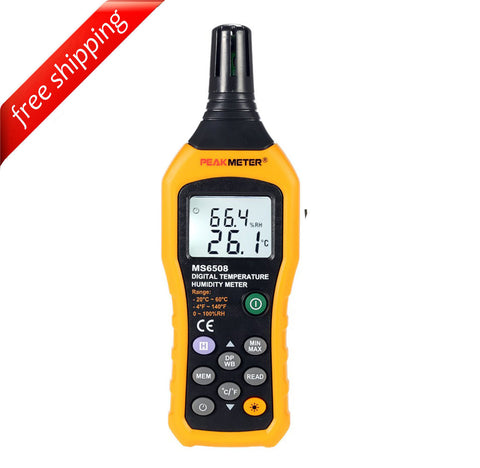 HYELEC MS6508 Digital Temperature Humidity Meter