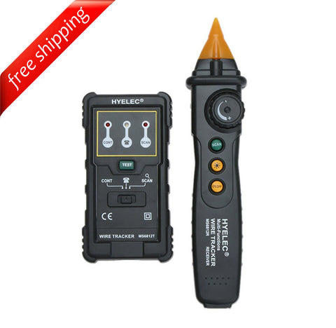 HYELEC MS6812 Multi-function Wire Tracker Network LAN Internet Wire Finder Telephone Line Tester