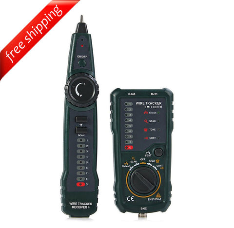 HYELEC MS6815 Multi-functions Network LAN Ethernet Phone Telephone Cable Toner Wire Tracker Tracking System Tester