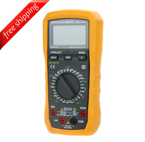 HYELEC MS80 Multifunction Digital Multimeter / Back Light