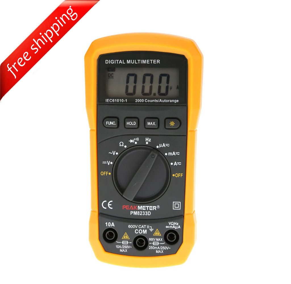 HYELEC MS8233D 2000 Counts Autorange Display Mini Digital Multimeter