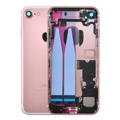 Back Housing Replacement Battery Case Cover Rear Frame with Spare Parts For iPhone 7 - Rose Gold