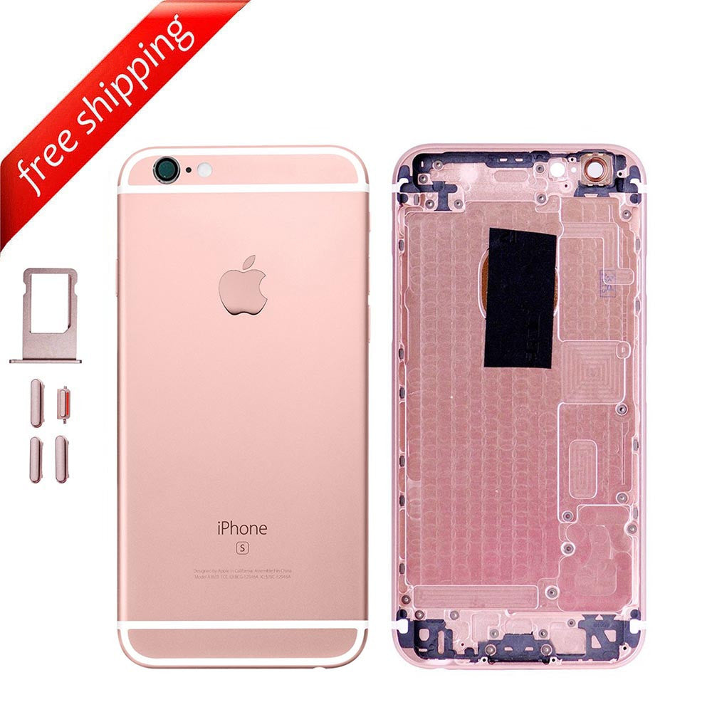 Back Housing Replacement Battery Case Cover Rear Frame For iPhone 6s Plus - Rose Gold